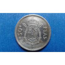 Moeda Espanha 50 Pesetas 1975