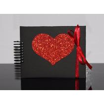 Álbum Fotos Mini Scrapbook Decorado Namorados Personalizado