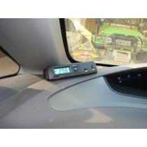 Termometro E Relógio Digital Veicular Lcd Interno Externo