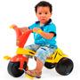 Triciclo Infantil Masculino Tigrão - Amarelo Com Vermelho
