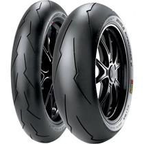 Jogo Pneu Moto 120/70r17+190/55r17 Pirelli Super Corsa Sc2