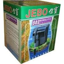 Filtro Externo Para Aquário Jebo 502 - Vazão De 450 L/h 110v