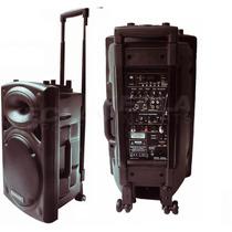 Ecopower Ep1291 350w Rms Falante 12 Mic Sem Fio Bateria