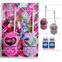 Walk Talk Monster High Até 100 Metros Walkie Talkie + Brinde