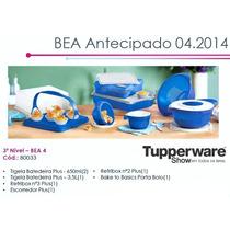 Kit Tupperware Importado Plus 08 Pçs De 492, P 375,00