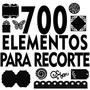 700 Elementos Basicos Para Corte Silhouette Svg Dfx Vetores