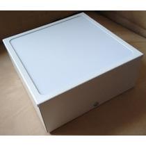 Plafon De Sobrepor Quadrado Branco 60x60x8 Acrílico Leitoso