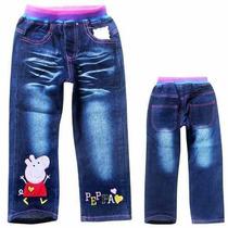 Calça Jeans Peppa Pig Importada Pronta Entrega