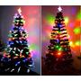 Arvore De Natal Led Pinheiro Fibra Optica - 1,80 De Altura
