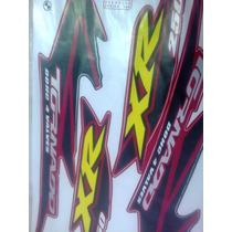 Adesivo Jogo Tornado Xr250 2005 Vermelha Completo