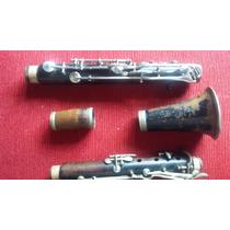 Clarinete 17 Chaves Sib De Madeira Relíquia