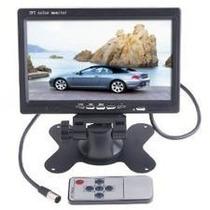 Tela Monitor Lcd 7 Dvd/ Tft / Colorida Com Controle