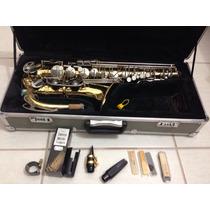 Sax Saxofone Alto Weril Senior Com Hardcase! Melhor Preco!!