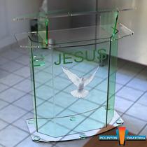 Púlpito Em Acrílico Pp13c