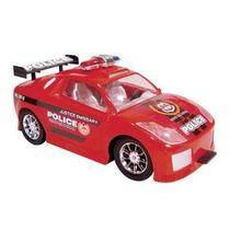 Brinquedo Carrinho Chacoalha Para Andar Police Shake&go 1998