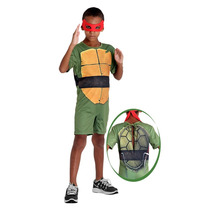 Fantasia Tartaruga Ninja Raphael Infantil Pop C/ Máscara