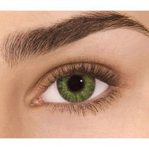Lentes De Contato, Duracao 01 Ano, Cor ;verde( Dark Green)