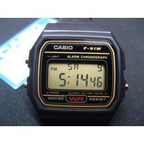 Casio F91w Original Serie Ouro