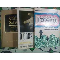 Chico Xavier Lote Com 3 Livros