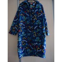 Roupão/trench Coat De Inverno Em Soft Do Stitch Disney