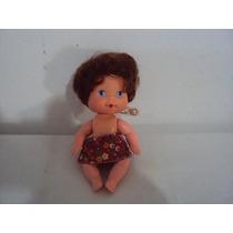 Boneca Moranguinho Bebe Pesseguinho Antiga Estrela Anos 80