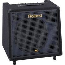 Amplificador Teclado Roland Kc550 Na Cheiro De Música Loja