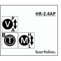 Circuito Bartolini Ativo/passivo Contra-baixo 4 Bandas