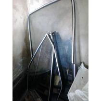 Vidros Passat Antigo 2 Portas Com Borracha E Friso Cromado
