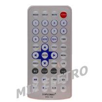 Controle Remoto Para Dvd Portátil Com Tela Diplomat Pdv-722