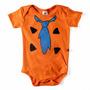 Body Fred Flintstone Fantasia Bebê Direto De Bedrock