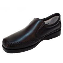 Sapato Fechado Em Couro Pelica/carneiro Anti-stress