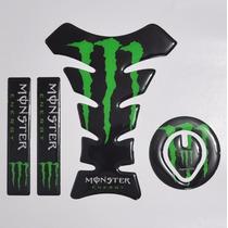 Protetor 3d Tanque + Bocal + Bengala Moto Honda Cg Fan 125