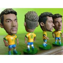 Neymar Mini Craque Neymar #10 Brasil Seleção Novo Kodoto