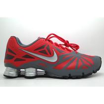 Nike Shox Turbo 14 Vermelho/cinza Frete Grátis C. Fiscal