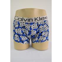 Cuecas Calvin Klein Com Estampas Diferentes.