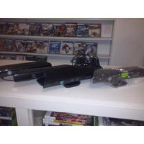 Sensor Kinect Xbox 360+jogo Kinect Adventure.