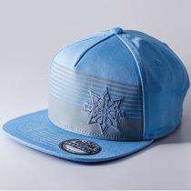 Boné Aba Reta Snapback Essencial Side Azul/cinza Un Rs1