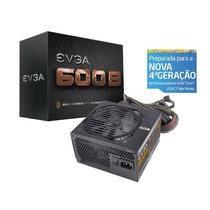 Fonte Evga 600w Reais 80 Plus Bronze 600 100-b1-0600-kr