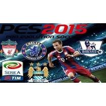 Patch Pes 2015 Atualizado + Brasileirão A E B + Bundesliga