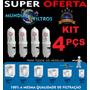 Kit 4pçs Refil Filtro Vela Purificador Agua Soft Everest 2x1