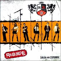 Cd Rbd Edição Em Espanhol Rebelde (2004) * Lacrado Raridade