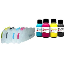 Bulk Ink Compativel Brother Dcp-j125 J165 Lc38 Lc39 Tintas