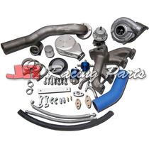 Kit Turbo Vw Ap Carburado Pulsativo Farol Azul Turbina 50/48