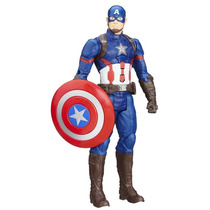 Boneco Capitao America Guerra Civil Interativo Avengers + Nf