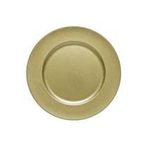 Sousplat Dourado C/brilho (melamina)
