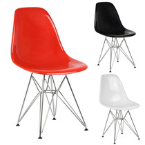 Cadeira New Eiffel Charles Eames Pc Sólido - 12x Sem Juros