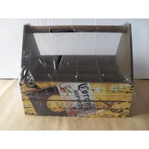 Porta 12 Garrafas Mdf Cerveja Corona Extra Bar Cozinha Beer