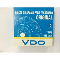 Disco Tacografo Semanal 125km Vdo