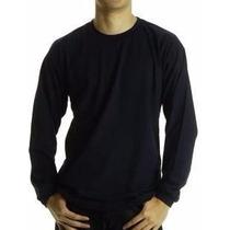 Camiseta Malha Fria Colorida Manga Longa (minimo 10 Pçs)
