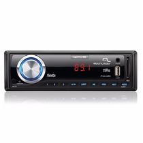 Rádio Automotivo Multilaser Wave Fiesta 4x 45w Usb Micro Sd